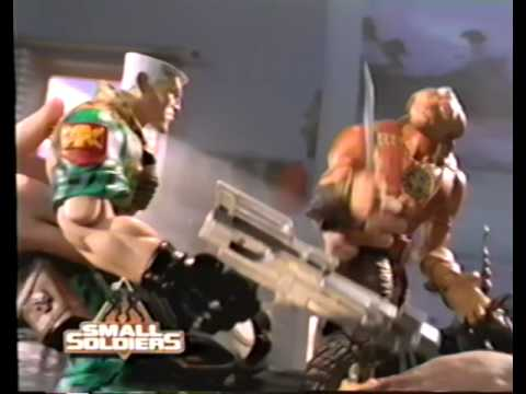 Small Soldiers - Soundtrack - Video Game - Toys (1998) Promo (VHS Capture)