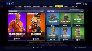 Pourrait 'OG' Crackshot et 'OG' Merry Marauder Skins Release Tonight In Fortnite