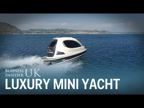 This luxury mini yacht costs £100,000 and it looks like a spaceship.