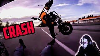 Ekelhafte Motorrad UNFÄLLE | Moji reagiert