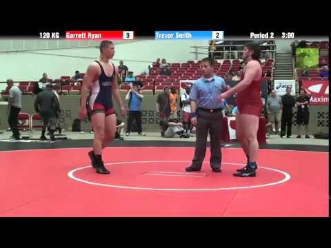 120 KG Garrett Ryan vs Trevor Smith