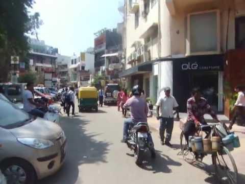 A walking tour of Hauz Klas Village in South Delhi, India.