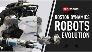 Evolution of Boston Dynamics | All Boston Dynamic Robots, including Newest Products