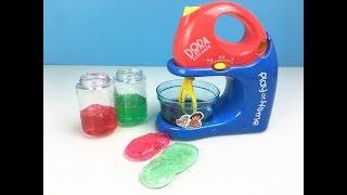 攪拌機玩彩泥玩具 親子過家家 dora 愛探險的朵拉