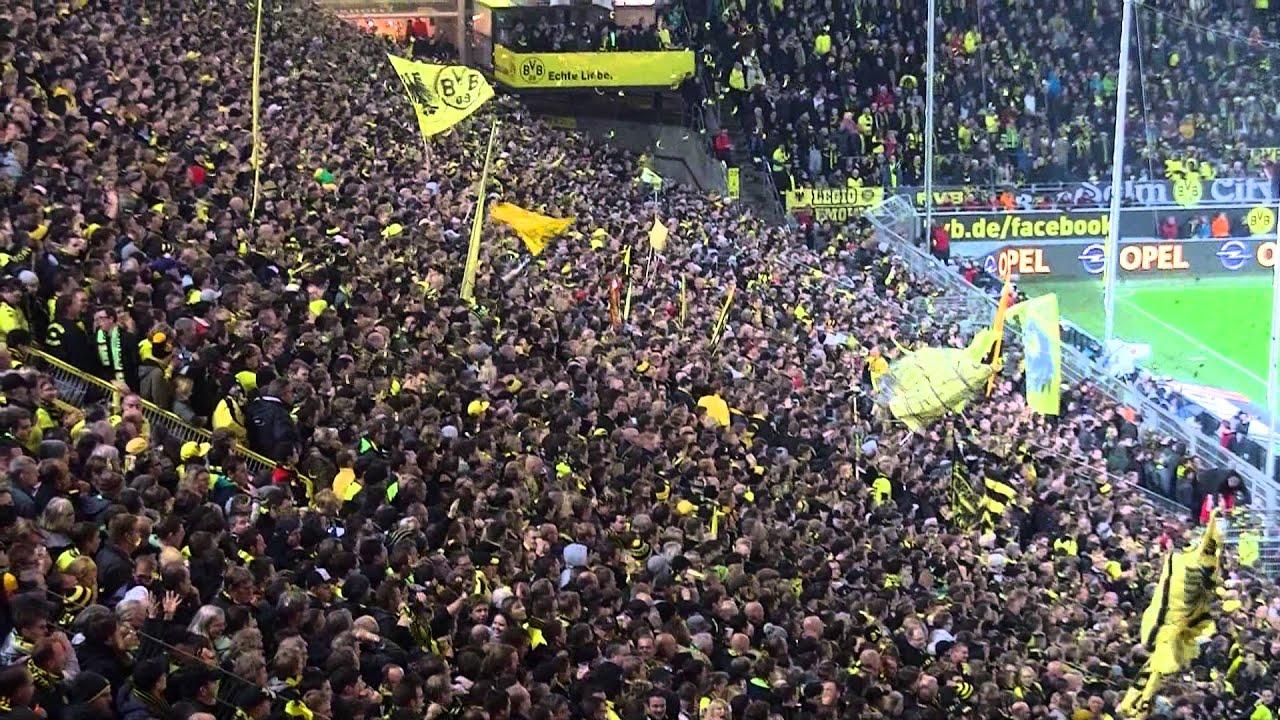 Der 6-fache Torjubel: Borussia Dortmund - VfB Stuttgart 6:1 (BVB Lewandowski 2013)