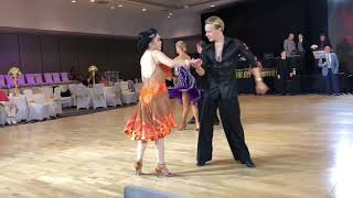 Precious with Oleg Astakhov - Pro/Am Ballroom dancing - Elite DanceSport 2018 Competition
