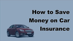 2017 Motor Vehicle Insurance FAQs   How to Save Money on Car Insurance