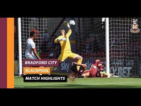 Bradford v Blackpool