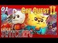 Cat Quest II - Nintendo Switch Gameplay - Episode 1