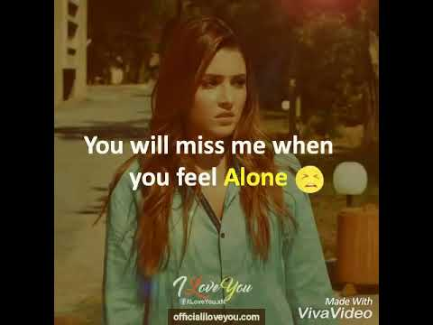 One Day You Will Miss Me Youtube