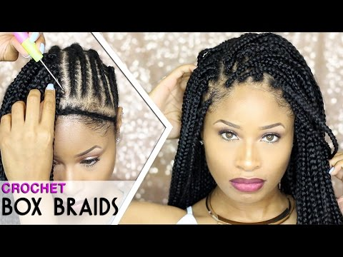 Diy Crochet Box Braids : Crochet Braids/Biba Soft Dread Hair Doovi