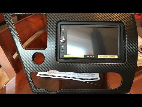 Sony XAV-AX100 Aftermarket Radio Install Into 9th Gen 2013 Honda Civic W/ ASWC-1