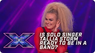 Is solo singer Tallia Storm ready to be in a band?| X Factor: The Band | Arena Auditions