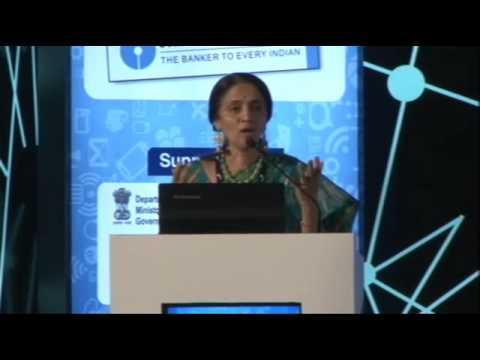 Chitra Ramkrishna, MD and CFO, NSE, Speaking @ INFOCOM 2015 Calcutta
