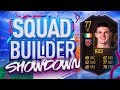 FIFA 19 SQUAD BUILDER SHOWDOWN!!! INFORM DECLAN RICE AT STRIKER!!! SBSD Is 11 Out Of 10 With Rice