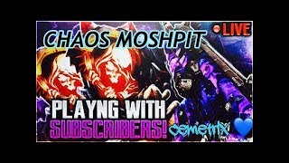 NEW CHAOS MOSHPITS 2XWEAPONXP!!!|BO3|Interactive Streamer!!!!|ROAD TO 1K SUBS [HD]