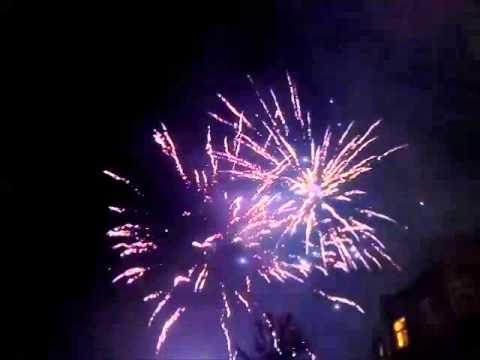 Vuurwerkshow/sfeerbeelden Oud op nieuw Cornerhouse Geleen ...