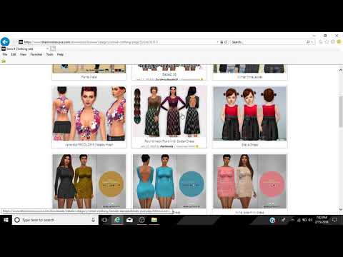 CC-Shop with Me | Clothes #1 | The Sims 4