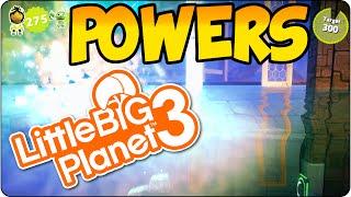 LBP3 Explosive Power Battle  Super Smash Bros Mini Game - LittleBigPlanet 3 Multiplayer LBP