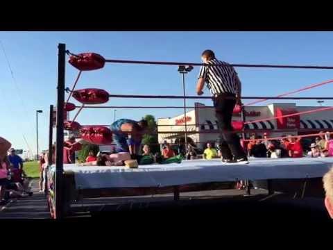 5.20.16 Lucas Nero vs Alexander Overton from AWF: Alabama Wrestling Federation.