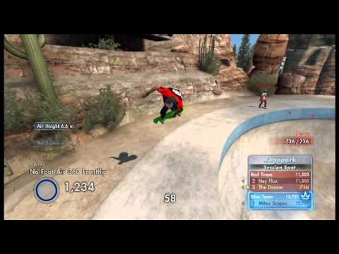 Skate 3 Online Random Gameplay: Spot Battle at the Megapark