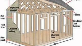 Garage plans - 12.000 free shed plans