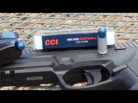 9mm CCI ShotShell Ballistic Gel Test!