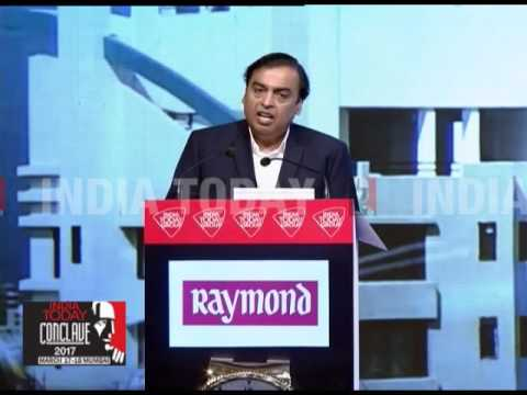 India Today Conclave 2017: Mukesh Ambani On How Technology Will Transform India