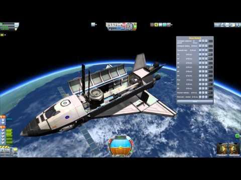 Kerbal Space Program - Interstellar Quest #17 - Space Shuttlin'