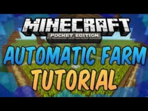 how to make a automatic carrot farm in minecraft