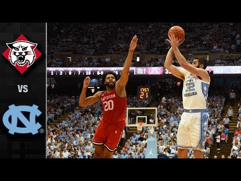Davidson vs. North Carolina Basketball Highlights (2018-19)
