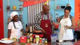 Grace And You Cooking Show   Shrimp And Lobster Coconut Curry