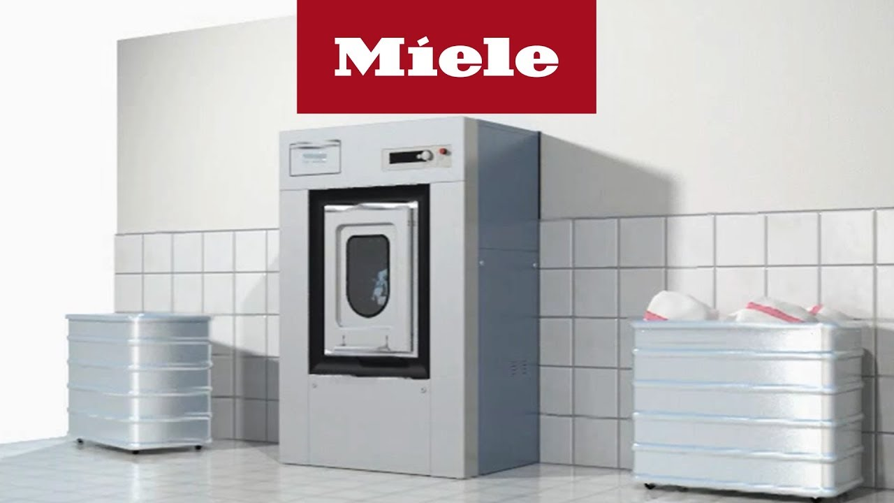 hygienewaschmaschine animation miele professional youtube. Black Bedroom Furniture Sets. Home Design Ideas