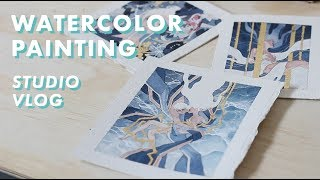 LIFE OF AN ARTIST // Sketching for an Exhibition [Ep. 1]