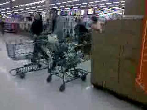 Dave Berman Walmart Wheelchair Racing Old People