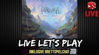 Pandoria (Jefrey D. Allers / Bernd Eisenstein, Iron Games 2018) - Live Let's Play 2 Spieler