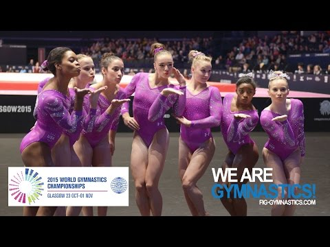 FULL REPLAY: Women's  Team Final - Glasgow 2015 Artistic Wor