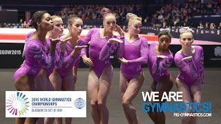 FULL REPLAY: Women's  Team Final - Glasgow 2015 Artistic Worlds - We are Gymnastics !