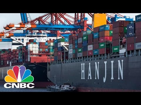 Cargo Chaos At Sea As Hanjin Files For Bankruptcy | CNBC