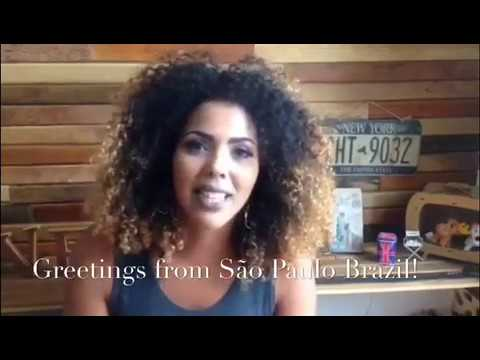 Women From São Paulo Brazil Show Love & Support