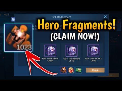 Claim your HERO FRAGMENTS Redeem Code 2020 l MLBB - YouTube