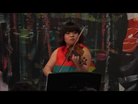 YURA! telling fiddle tales . . . at ChamberFest Cleveland (2016)
