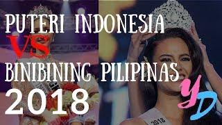 Puteri Indonesia 2018 VS Binibining Pilipinas 2018! #YDTalks Episode 3