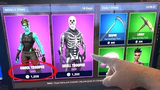 Will the Skin GHOUL TROOPER return to the Fortnite store?