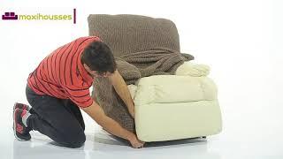 Housse de fauteuil relax. Elles sont convenable pour fauteuils relax mécanisés où les repose-pieds est indépendant de l'assise et les repose-pieds est joint, ...