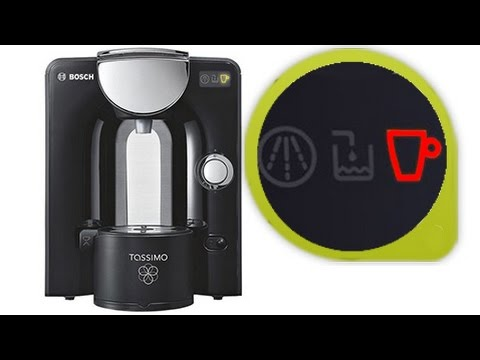 How to fix Bosch Tassimo Espresso machine - Red light fault - YouTube