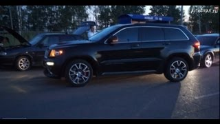 Jeep SRT 8 (stock) vs Mitsubishi Lancer Evolution 7