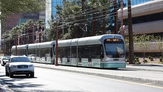 Valley Metro: Phoenix Light Rail (METRO Rail) to Mesa, AZ... FULL RIDE!