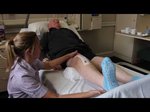 Physiotherapy following a Total Knee Replacement