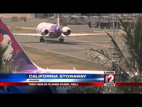 Stowaway teen forces review of airport security